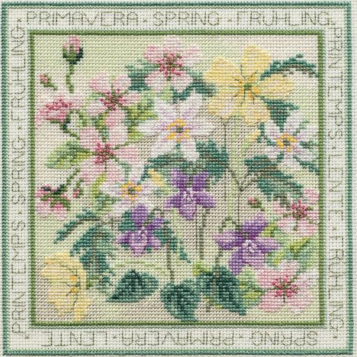 """""""Spring"""" Counted Cross Stitch Kit by Rose Swalwell"""