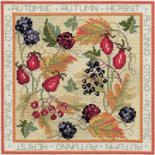 """""""Autumn"""" Counted Cross Stitch Kit by Rose Swalwell"""