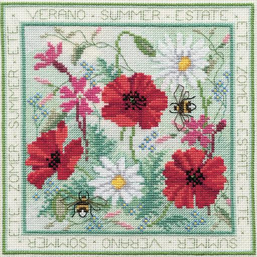 """""""Summer"""" Counted Cross Stitch Kit by Rose Swalwell"""