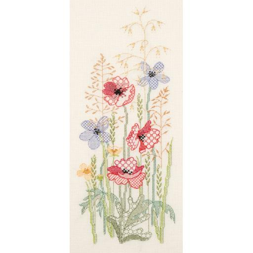 """Summer Panel"" Cross Stitch Kit by Rose Swalwell"