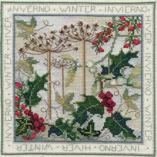 """""""Winter"""" Counted Cross Stitch Kit by Rose Swalwell"""