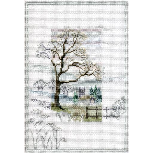 """""""Winter Tree"""" Counted Cross Stitch Kit by Rose Swalwell"""