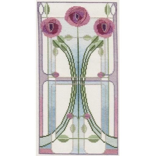 """""""Rose Bouquet"""" Counted Cross Stitch Kit by Rose Swalwell"""