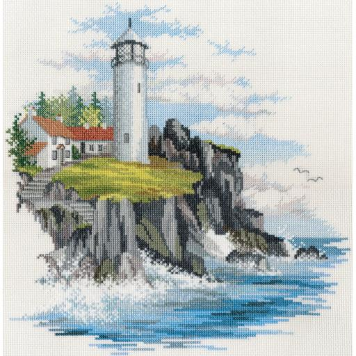 """""""Storm Point"""" Counted Cross Stitch Kit by Rose Swalwell"""