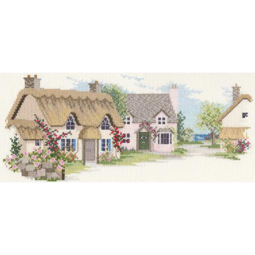 """""""Summer Lane"""" Counted Cross Stitch Kit by Rose Swalwell"""