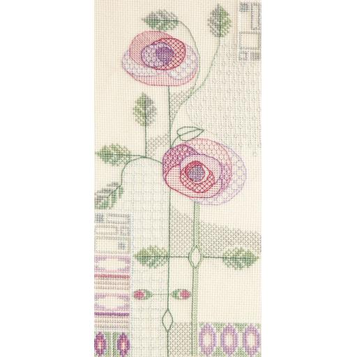 """""""Morning Rose"""" Counted Cross Stitch Kit by Rose Swalwell"""