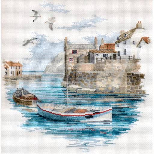 """""""Secluded Port"""" Counted Cross Stitch Kit by Rose Swalwell"""